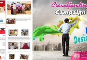 Fundraiser Campaign Design for Kickstarter, Indiegogo