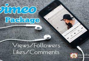 Vimeo Promotion Package – Likes, Followers, Views