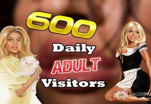 We Send 600 Daily Keyword Targeted Adult Traffic