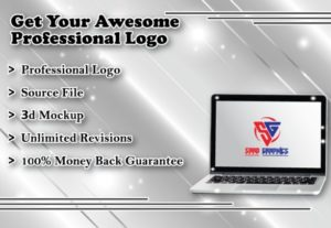 I will Design a modern logo in 24 hours