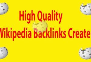 I can Create Wikipedia Backlinks